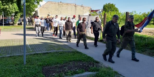 2. memorijalna hodnja Putovima proboja iz Vukovara
