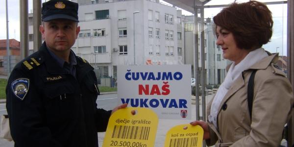 Grad i policija upozoravaju na očuvanje naše imovine